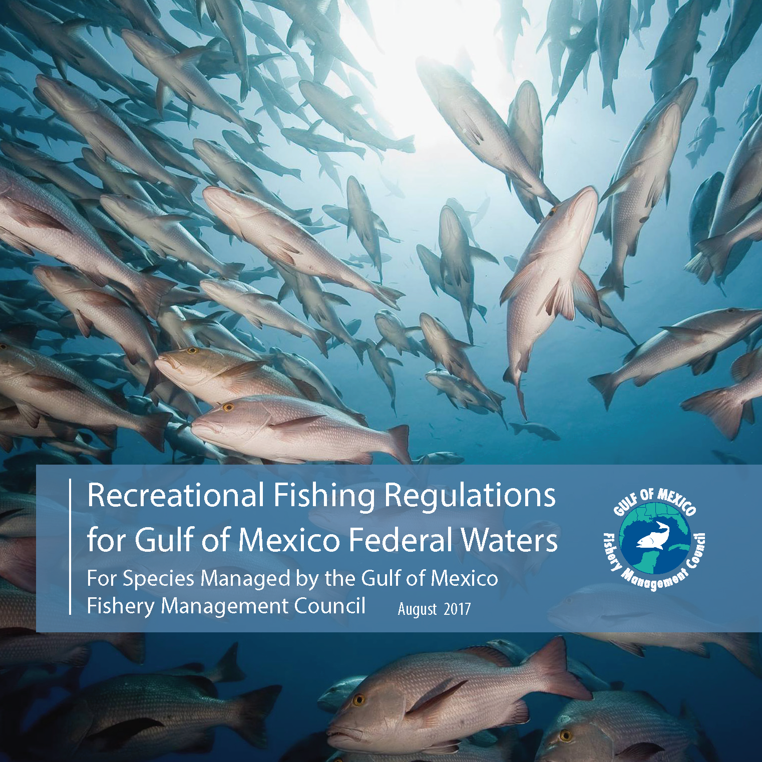 August cover gulf of mexico fishery management council for Federal fishing regulations