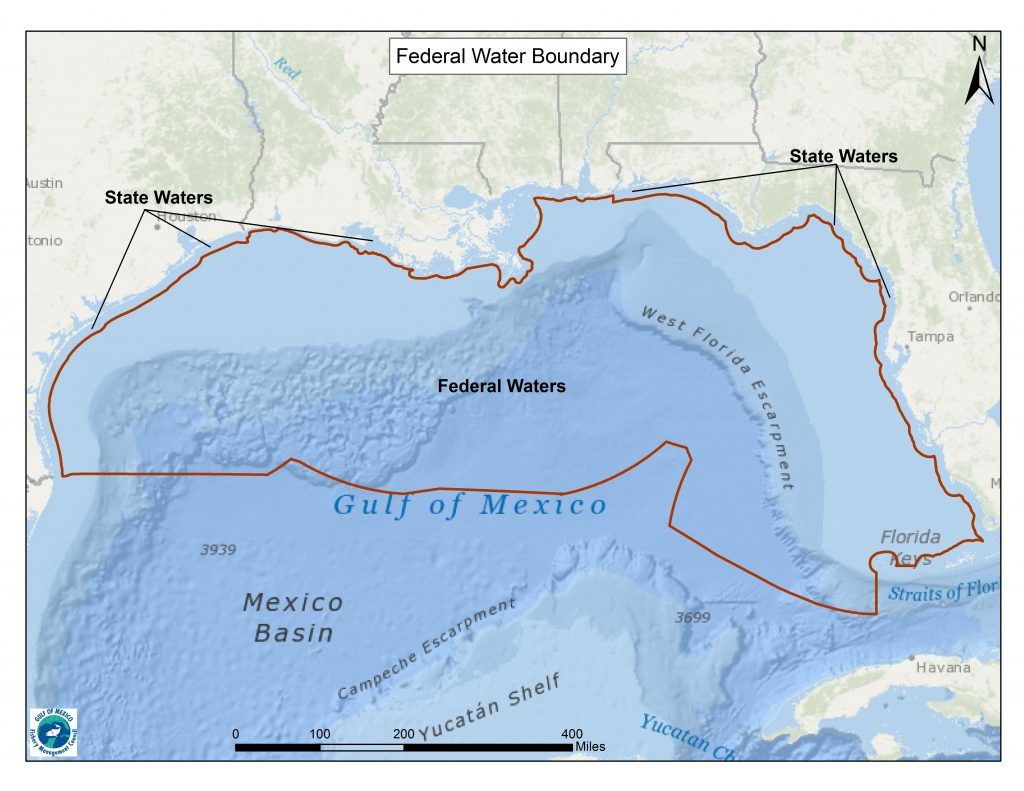 State fishing regulations gulf of mexico fishery for Federal fishing regulations