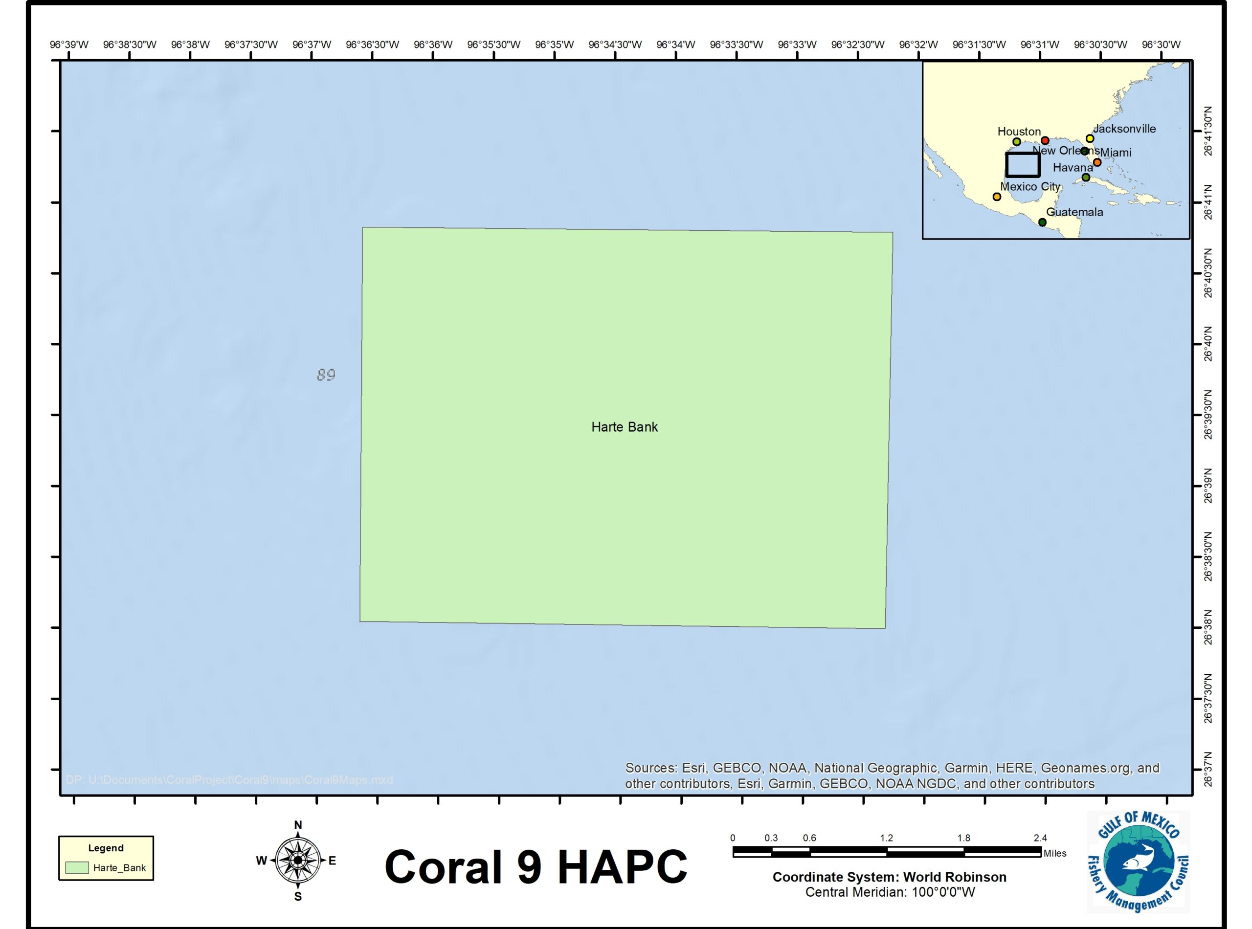 Harte bank Map