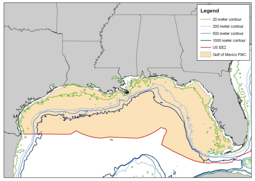 Red Grouper boundary map