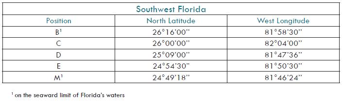 Southwest FL Seasonal Trawl Closure