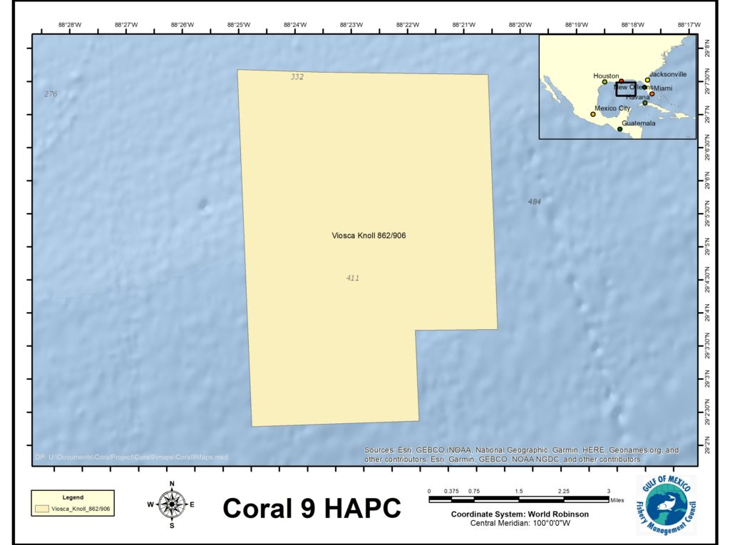 Viosca Knoll 862-906 Map